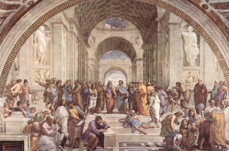 Musei Vaticani - La Scuola di Atene