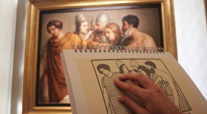 Visitatori con disabilità ai Musei Vaticani