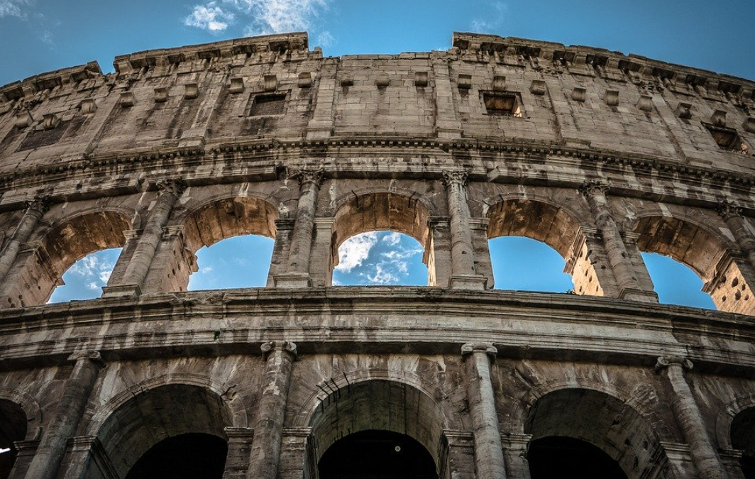 Quarto e quinto anello del Colosseo
