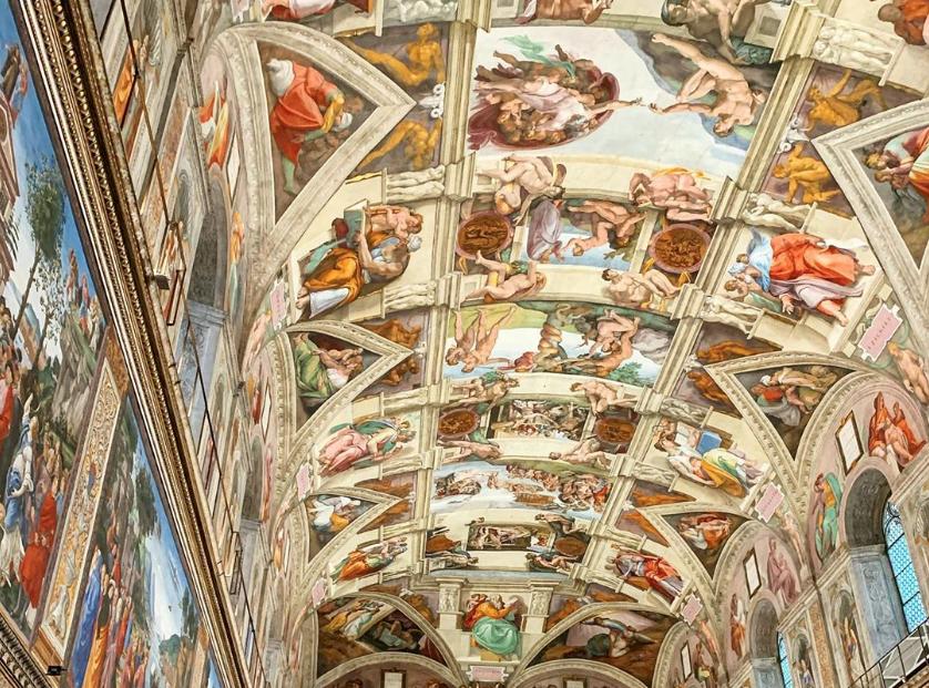 Il Diluvio Universale di Michelangelo
