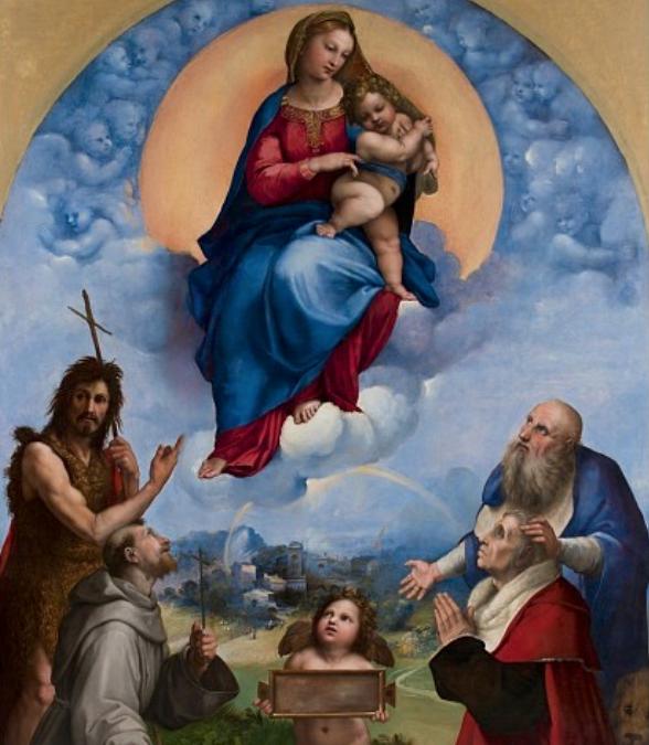 Raffaello e la Madonna di Foligno ai Musei Vaticani