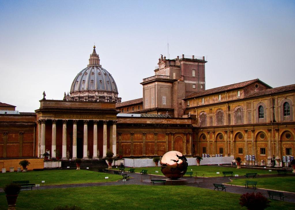 Cortile della Pigna - Musei Vaticani