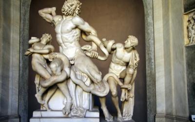 Il Laocoonte ai Musei Vaticani