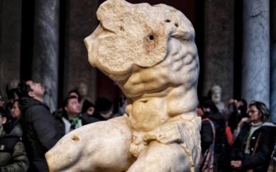 Il Torso del Belvedere ai Musei Vaticani