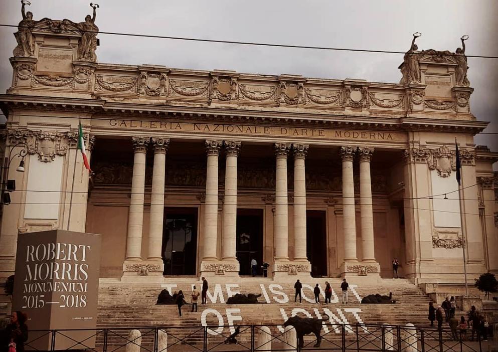 Galleria d'Arte Moderna a Roma - photo by @ornella_monte