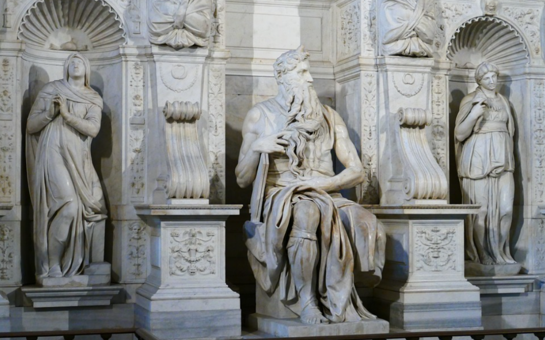 Michelangelo e il terribile Mosè