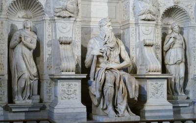 Il grande Michelangelo e il terribile Mosè